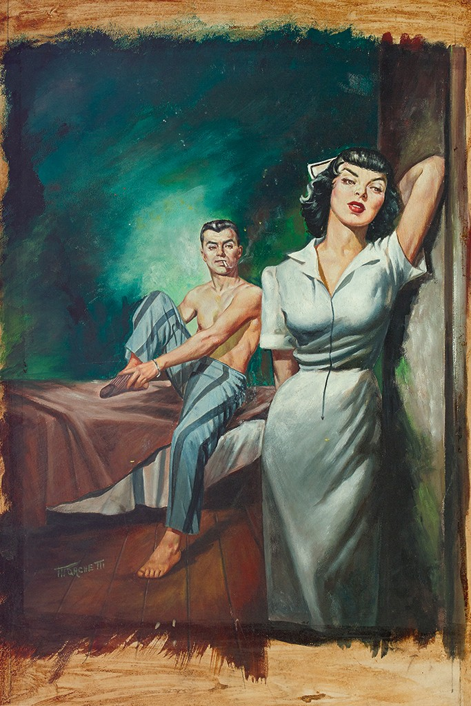 Lou Marchetti, Intimate Affairs of a French Nurse