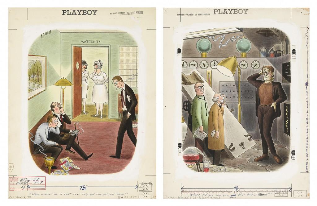 Richard Taylor, Playboy