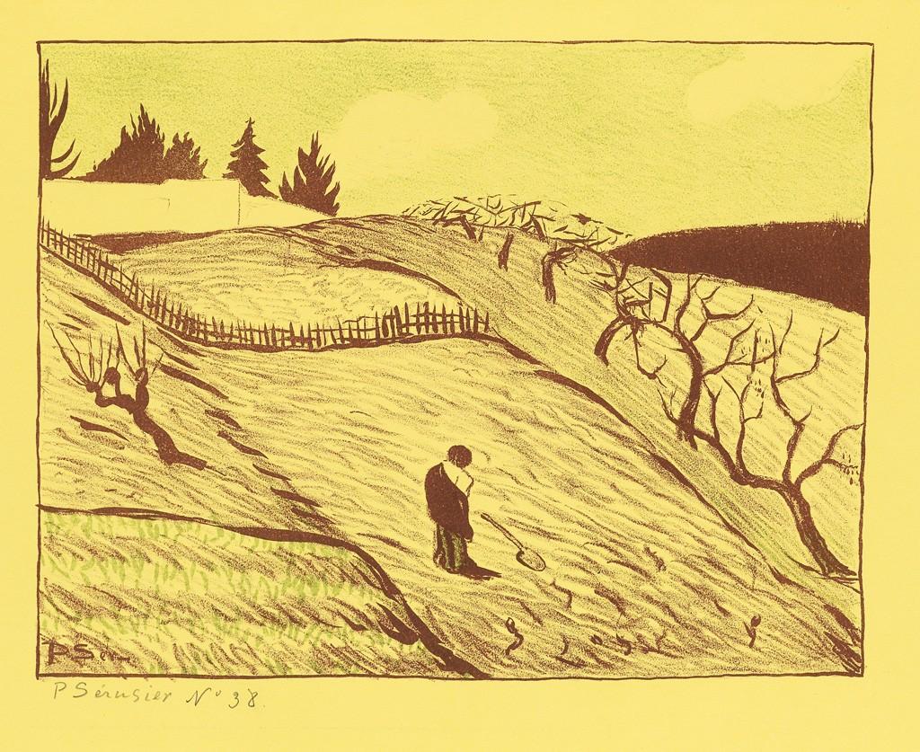 Paul Sérusier, Paysage (La Fin du Jour)