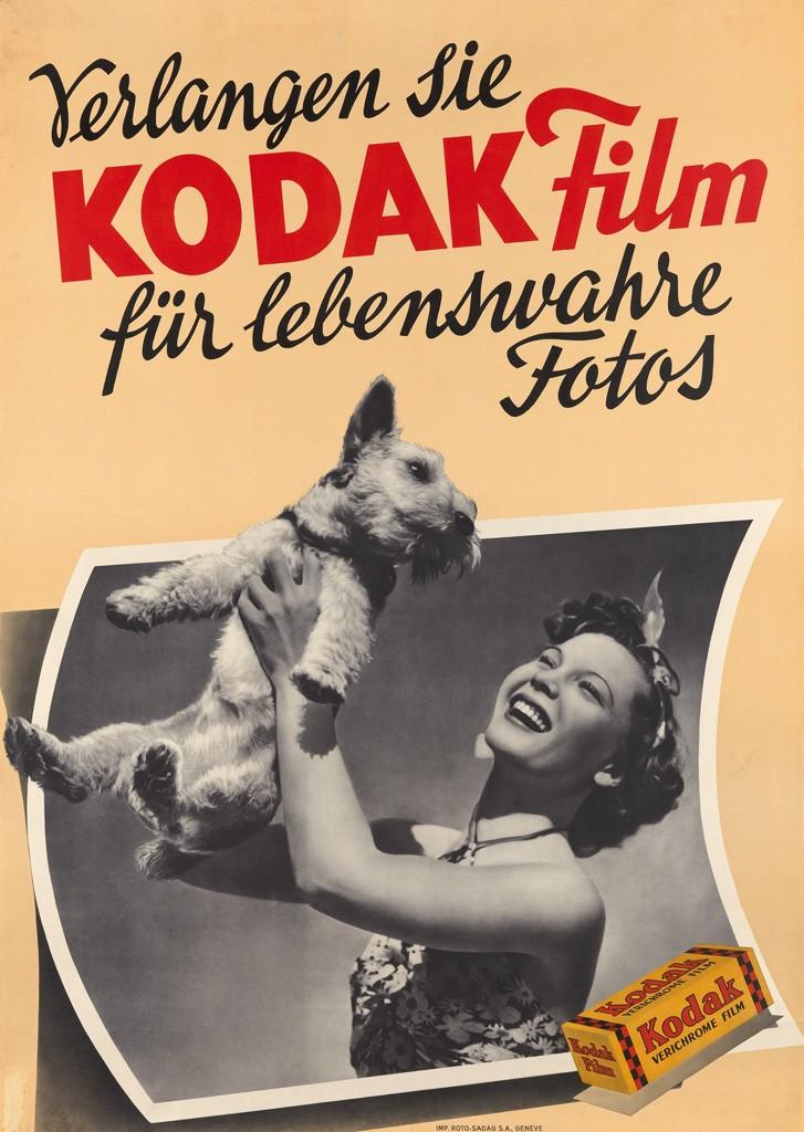 Verlangen Sie Kodak Film Für Lebenswahre Fotos, by an unknown designer.
