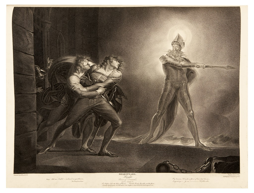 John & Josiah Boydell's A Collection of Prints from the Pictures Painted for the Purpose of Illustrating the Dramatic Works of Shakespeare by the Artists of Great-Britain, two volumes bound in one, with 97 engraved plates, London, 1793-[1805].