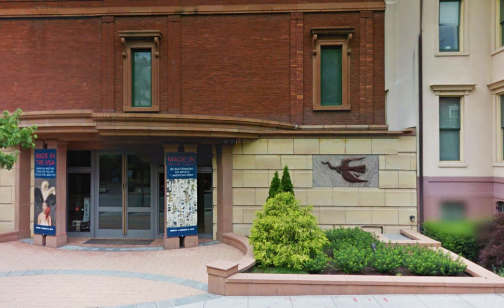 The Phillips Collection, Washington, DC. Photo from Google Maps.