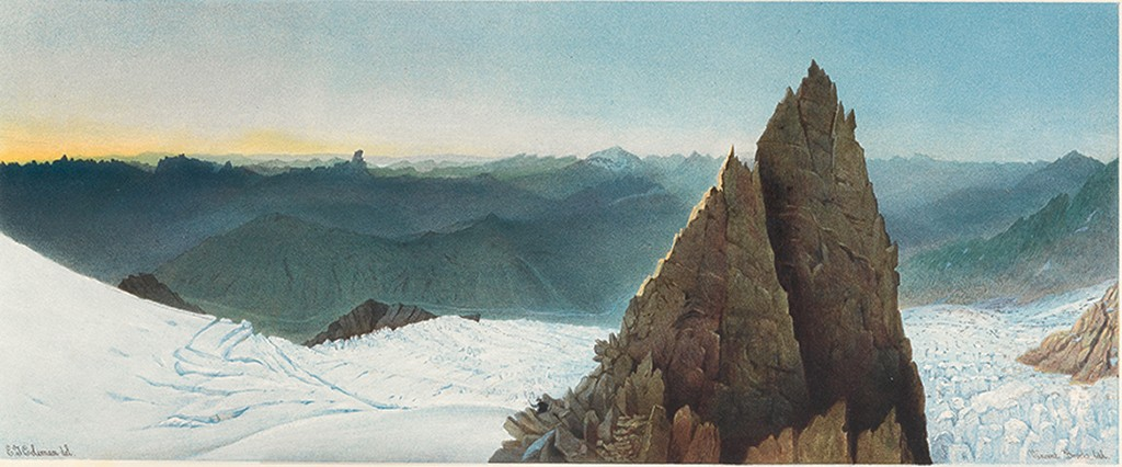 Lot 207: Edmund Thomas Coleman, Scenes from the Snow-Fields, London, 1859. Sold for $16,250.