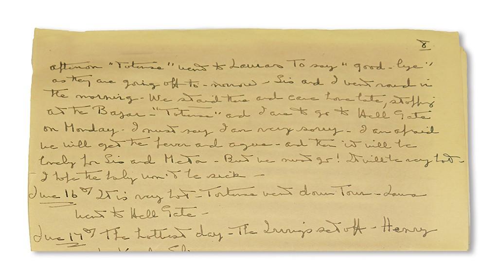 Lot 232: Edith Brevoort, June 17, 1848.