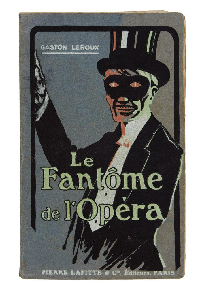 Lot 199, Gaston Leoux's Le Fantôme de l'Opéra, cover.