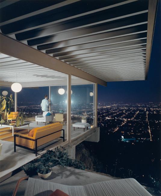 Julius Schulman, Los Angeles, Pierre Koening, Case Study House #22,