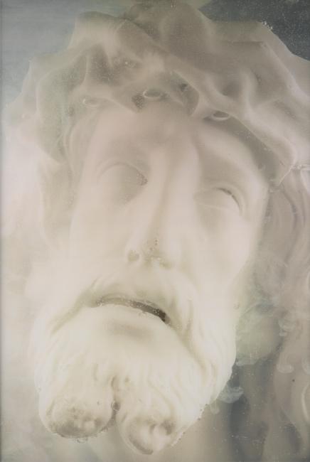 Andres Serrano, White Christ, cibachrome print, 1989.
