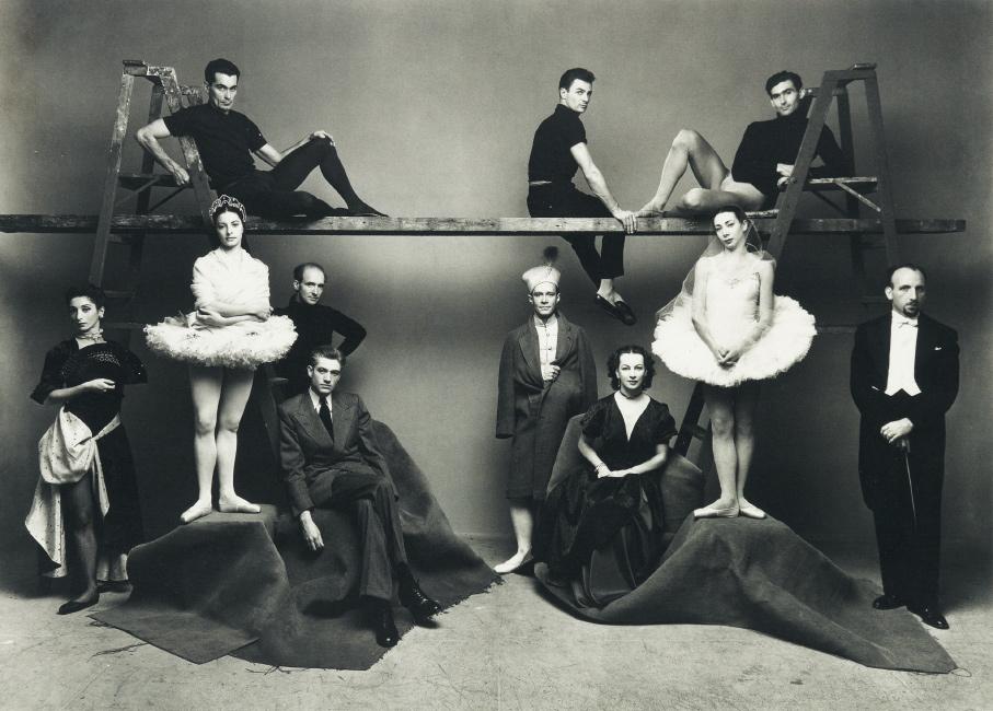 Irving Penn, American Ballet Theatre, platinum-palladium print