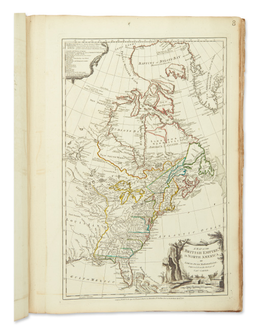 Thomas Jefferys, The American Atlas, London, 1776-77.