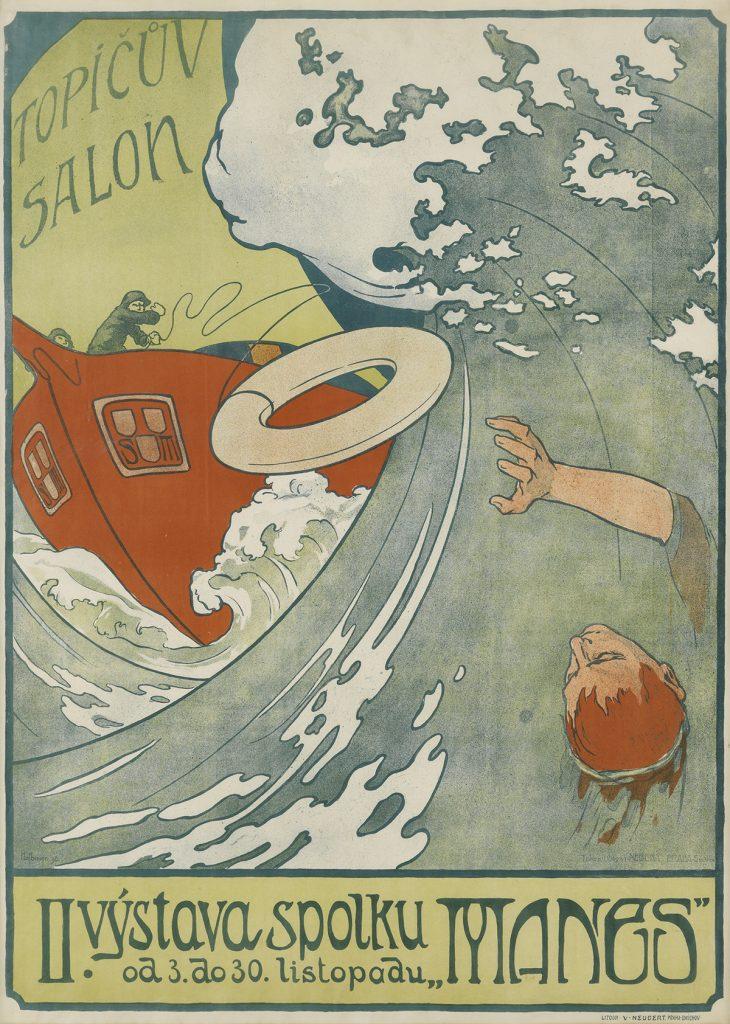 "Arnost Hofbauer, Il. Vystava Spolku ""Manes"" / Topicuv Salon, 1898."