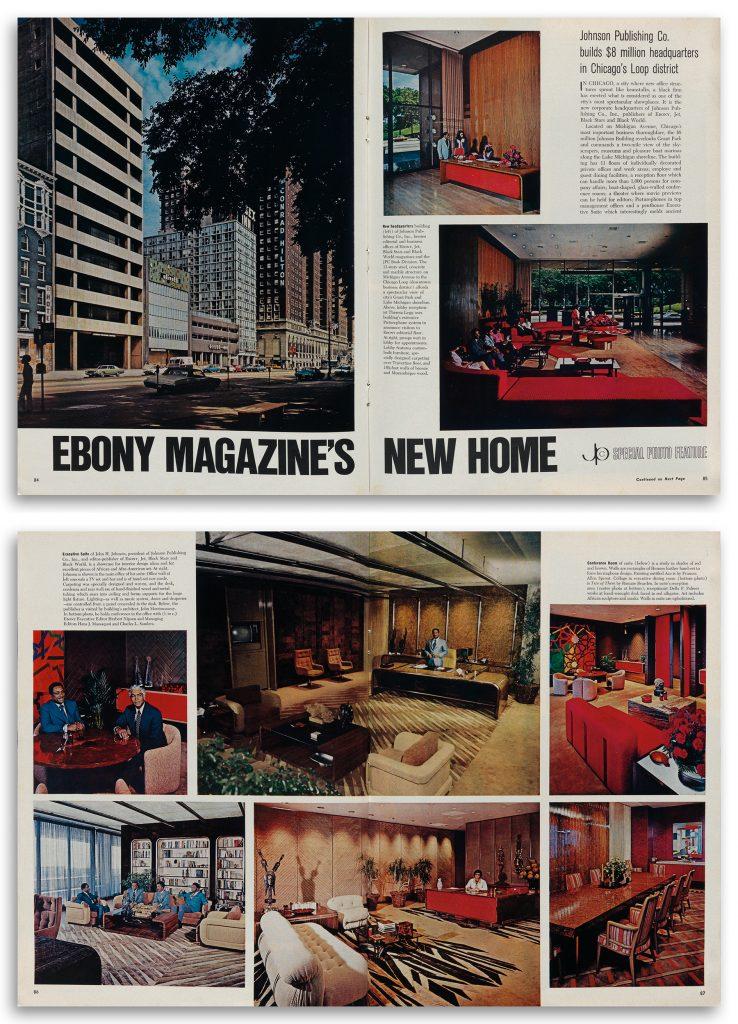 The September 1972 issue of Ebony magazine.