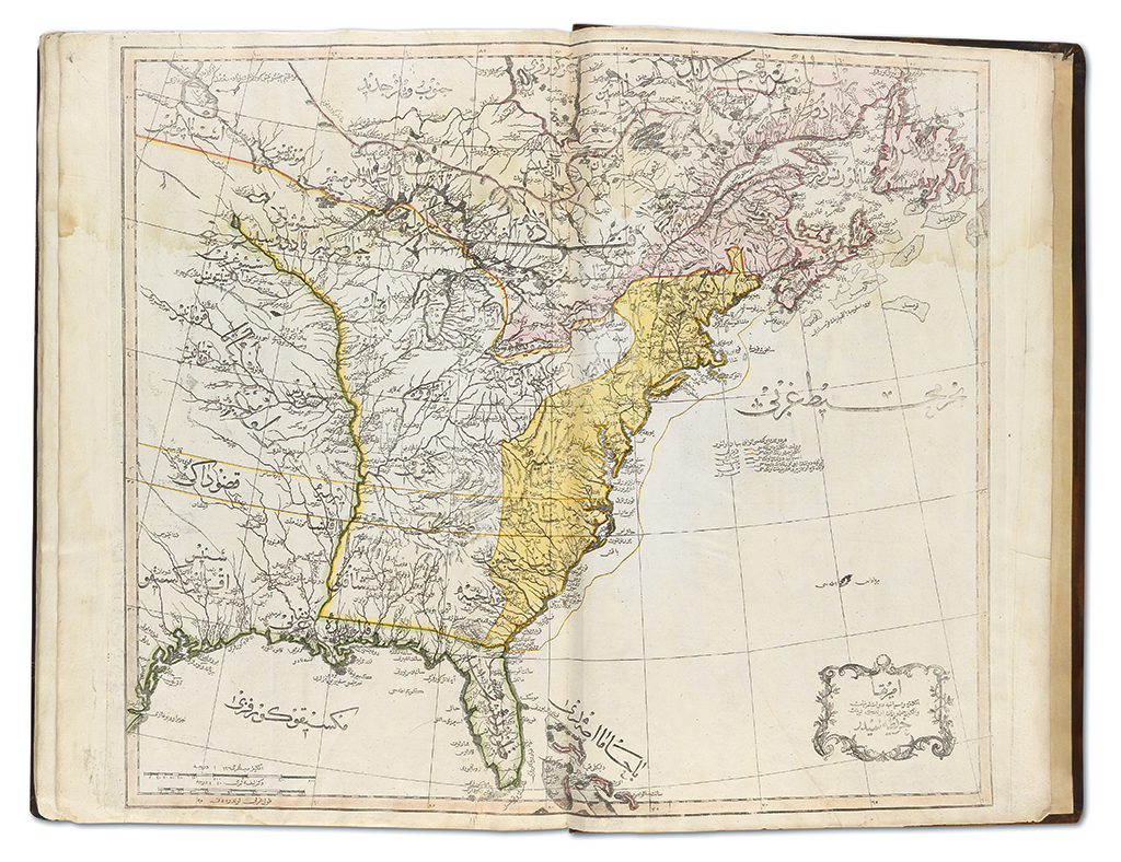 Mahmud Raif Efendi, Cedid Atlas Tercümesi, Istanbul, 1803-04.