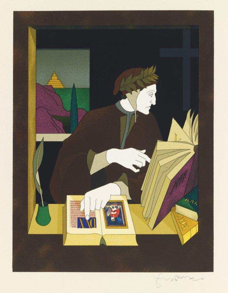 Tom Phillips, The Divine Comedy of Dante Alighieri, London, 1983.
