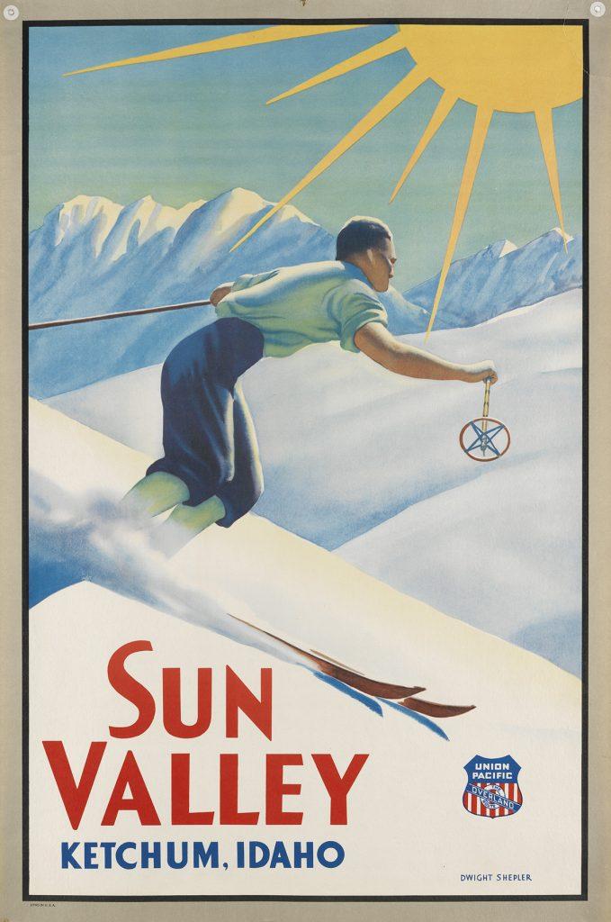 Dwight Clark Shepler, Sun Valley / Union Pacific, circa 1940.