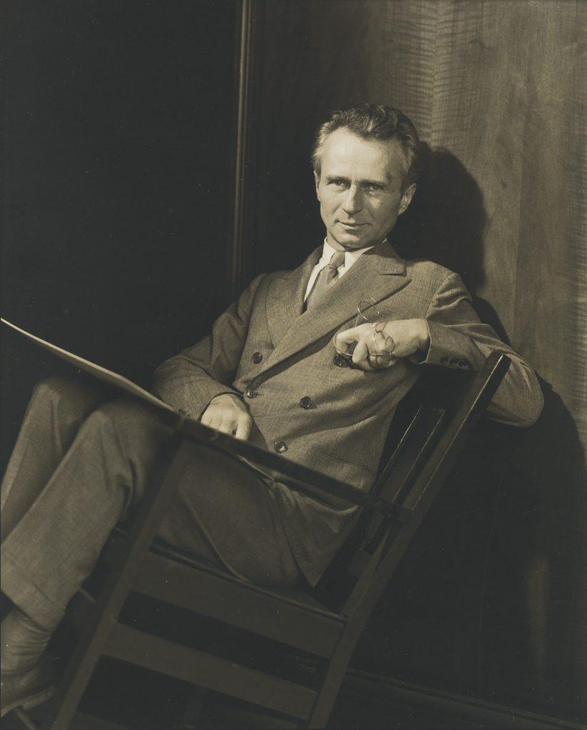 Edward Steichen, Self-Portrait, silver print, circa 1929.