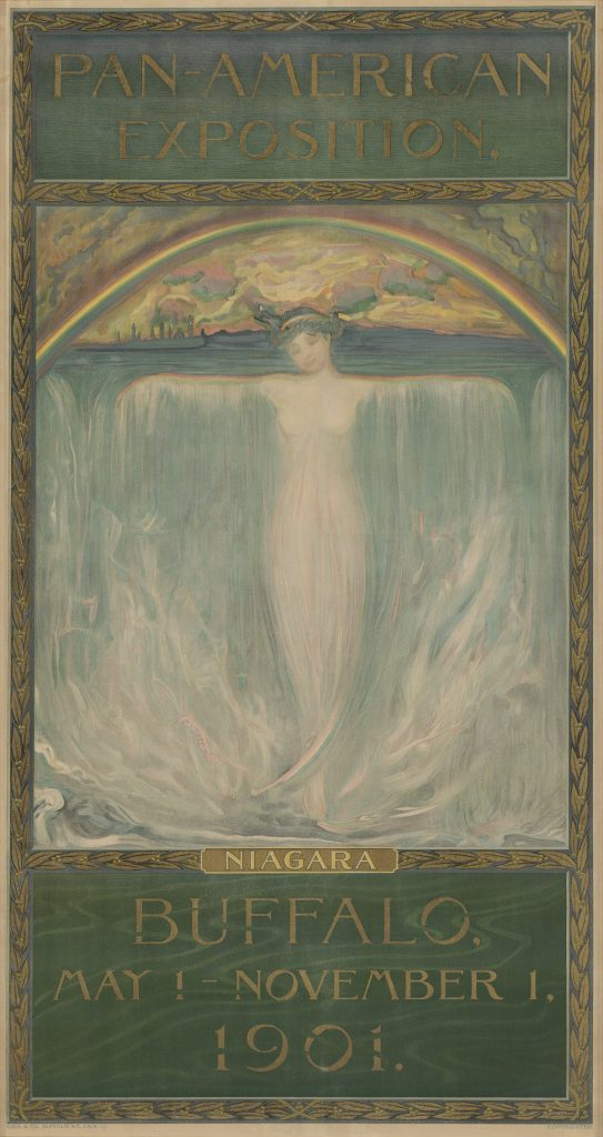 Evelyn Rumsey Cary, Pan-American Exposition / Niagara, 1901.